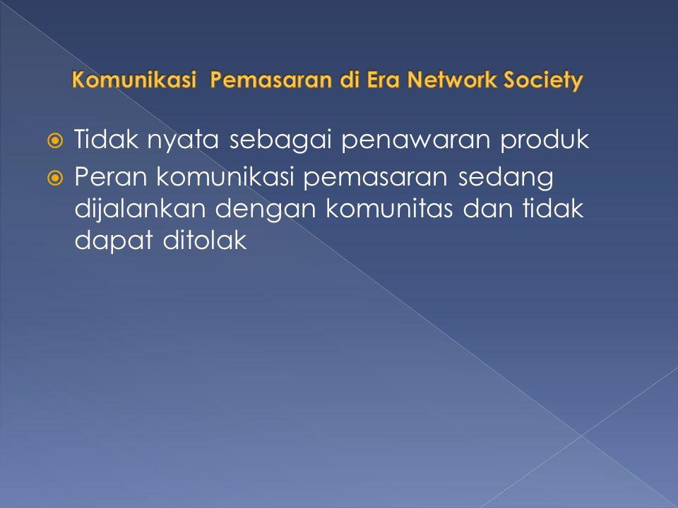 Komunikasi Pemasaran di Era Network Society