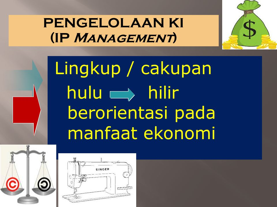 PENGELOLAAN KI (IP Management)