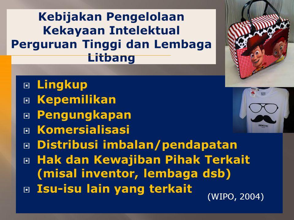 Distribusi imbalan/pendapatan