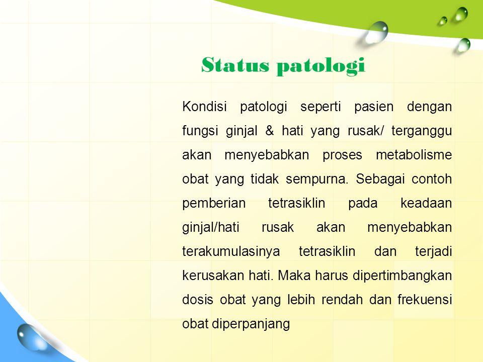 Status patologi