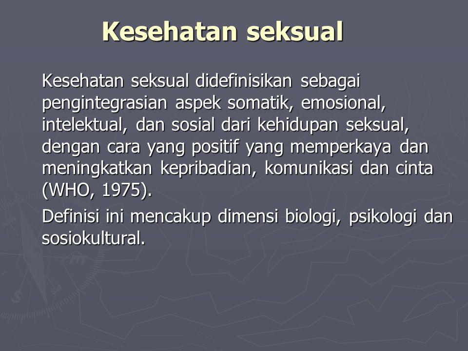 Kesehatan seksual