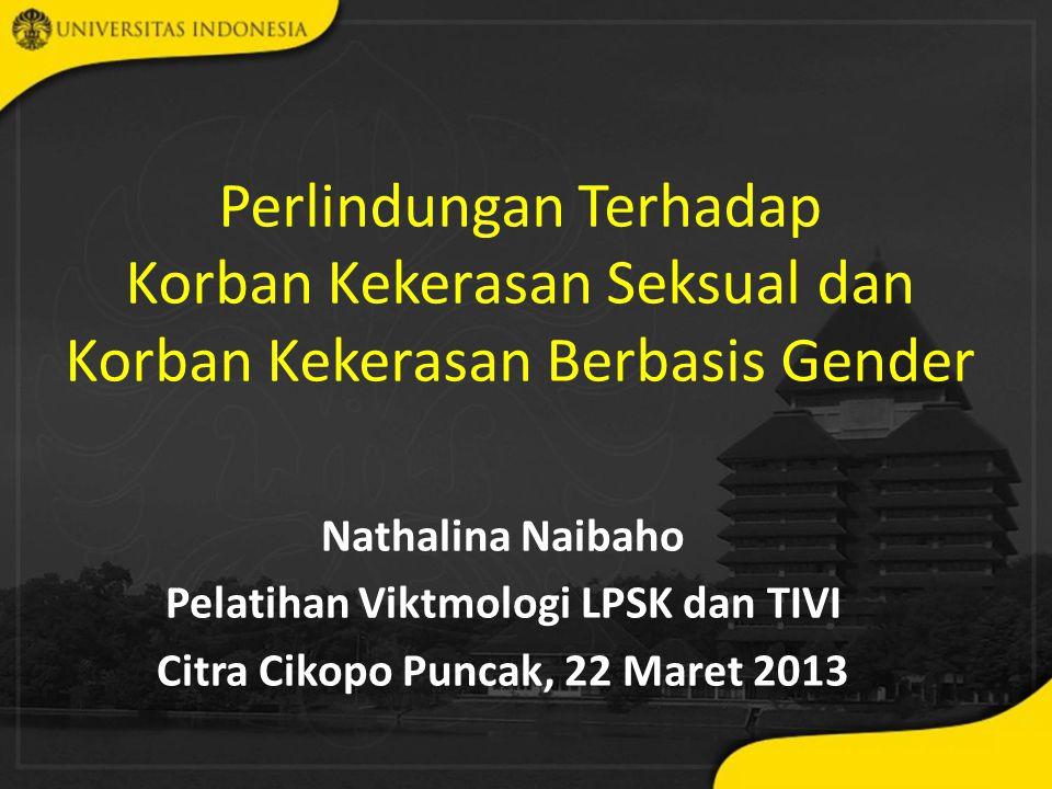 Pelatihan Viktmologi LPSK dan TIVI Citra Cikopo Puncak, 22 Maret 2013