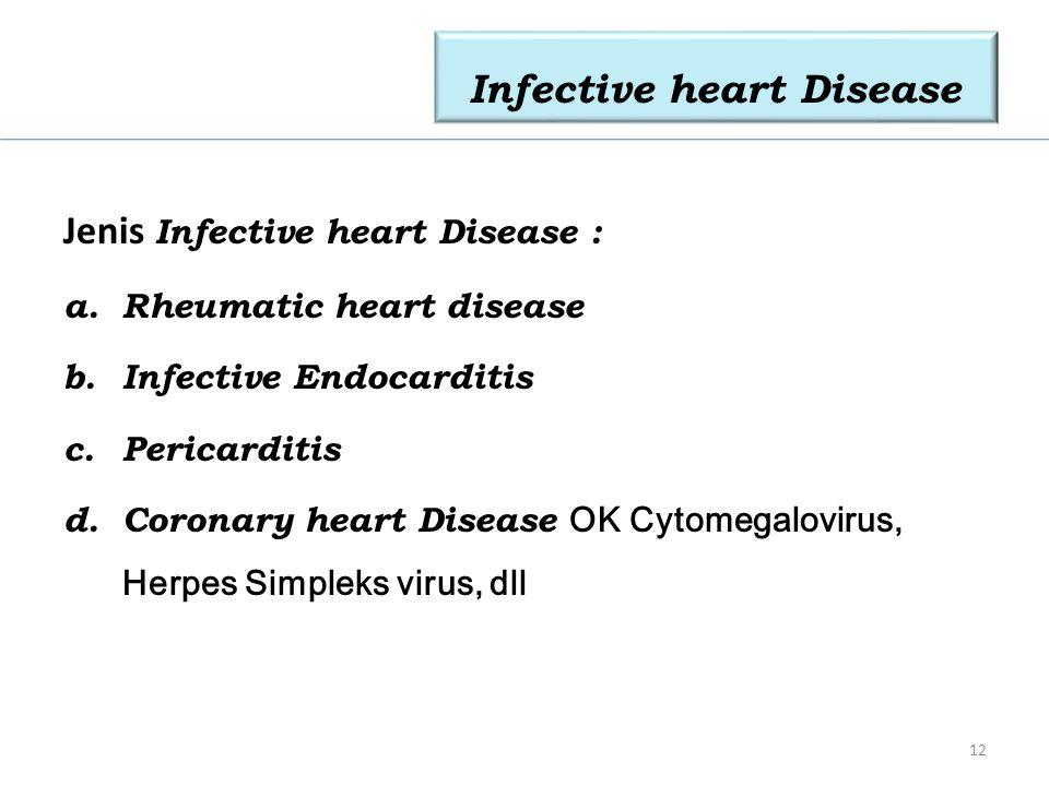 Infective heart Disease