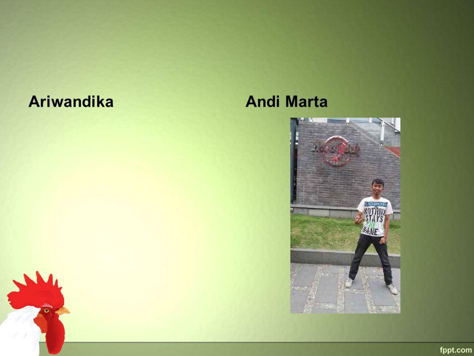 Ariwandika Andi Marta