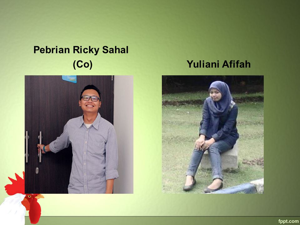 Pebrian Ricky Sahal (Co) Yuliani Afifah
