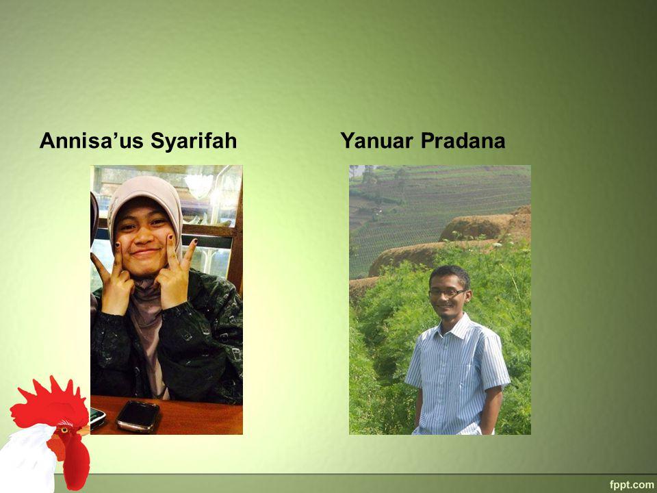 Annisa'us Syarifah Yanuar Pradana