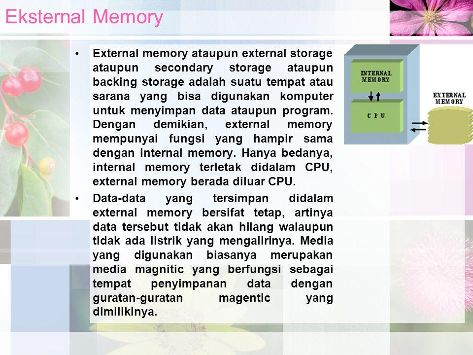 Eksternal Memory