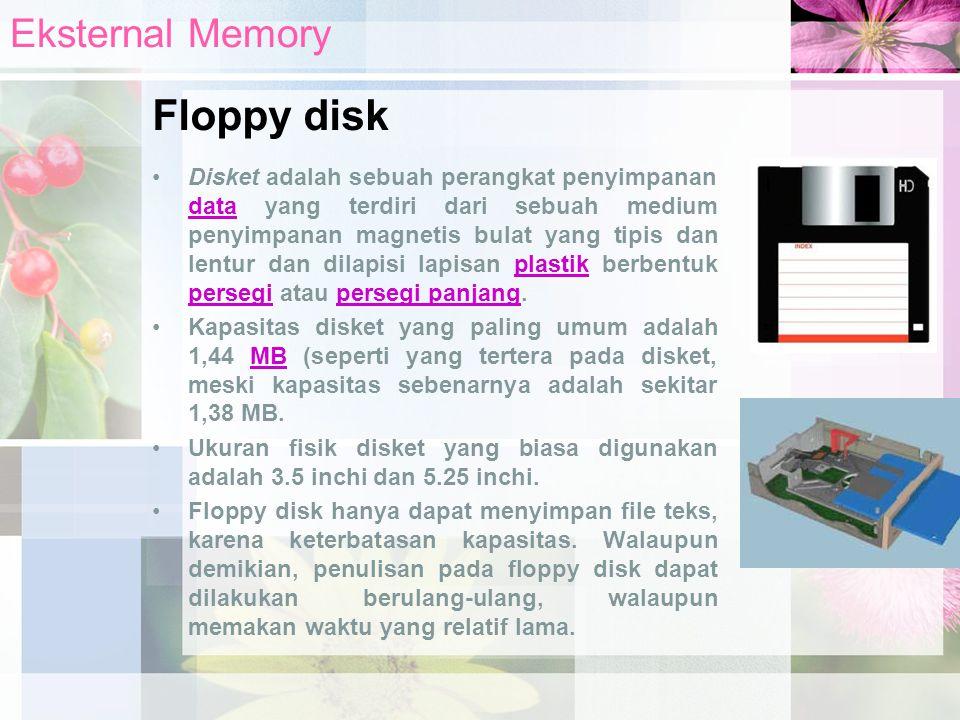 Floppy disk Eksternal Memory