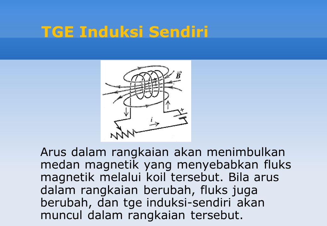 TGE Induksi Sendiri