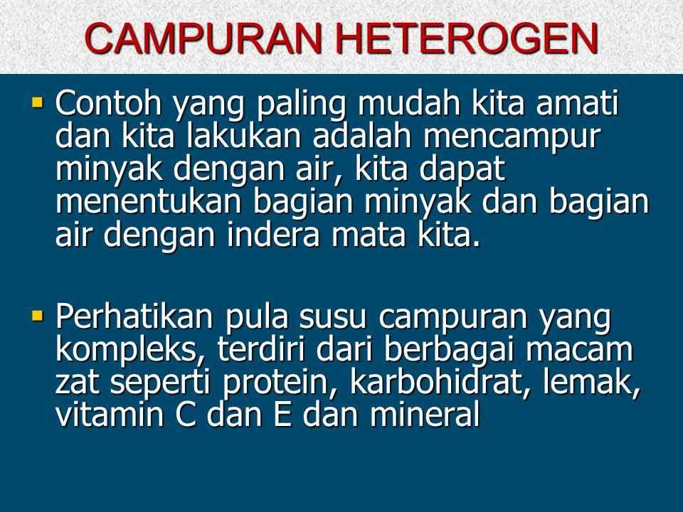 CAMPURAN HETEROGEN