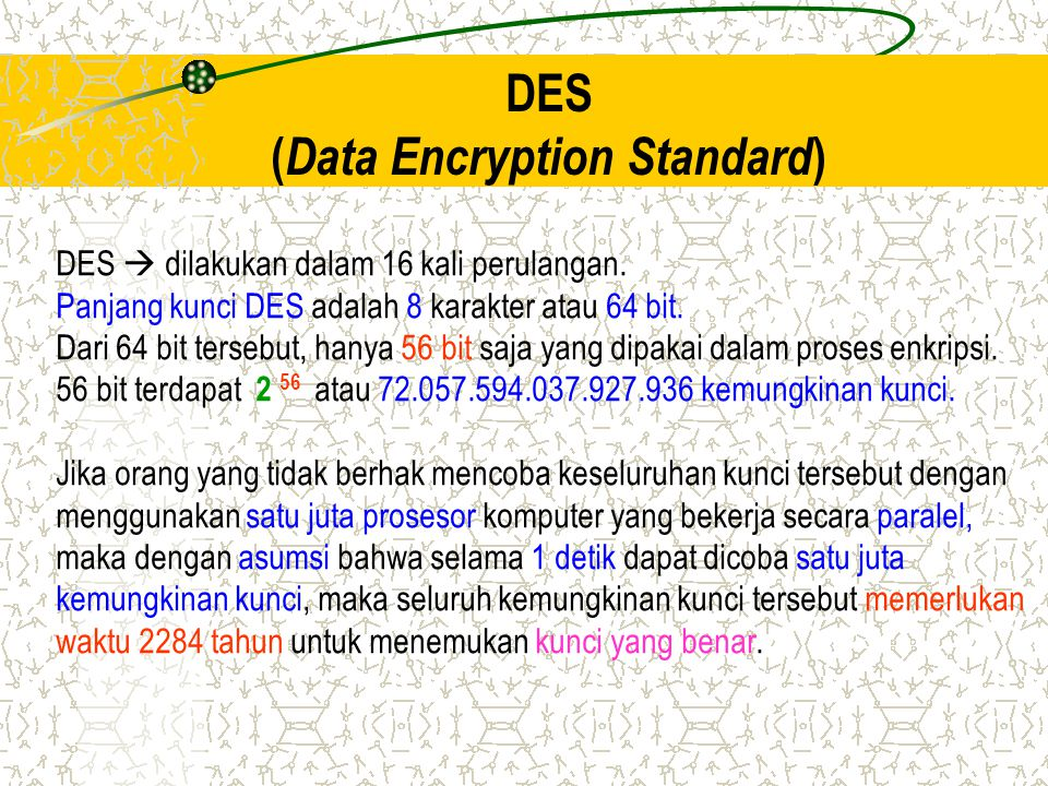 (Data Encryption Standard)