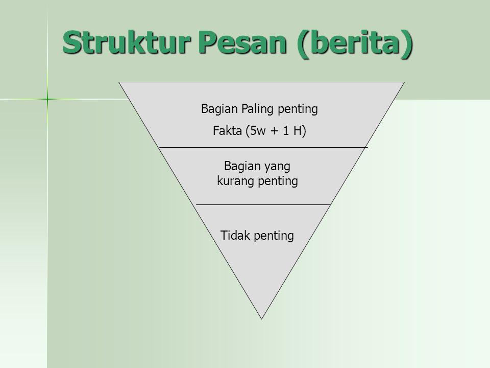 Struktur Pesan (berita)