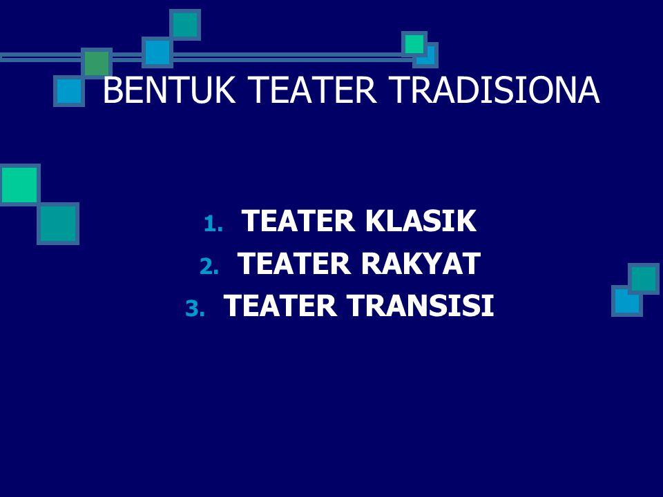 BENTUK TEATER TRADISIONA
