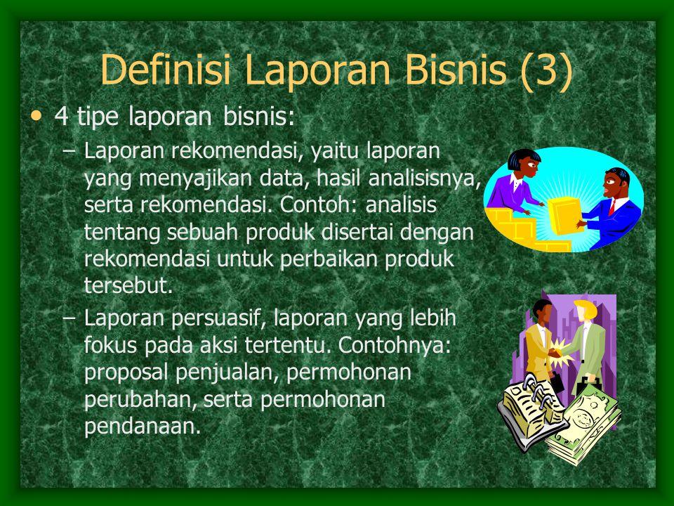 Definisi Laporan Bisnis (3)