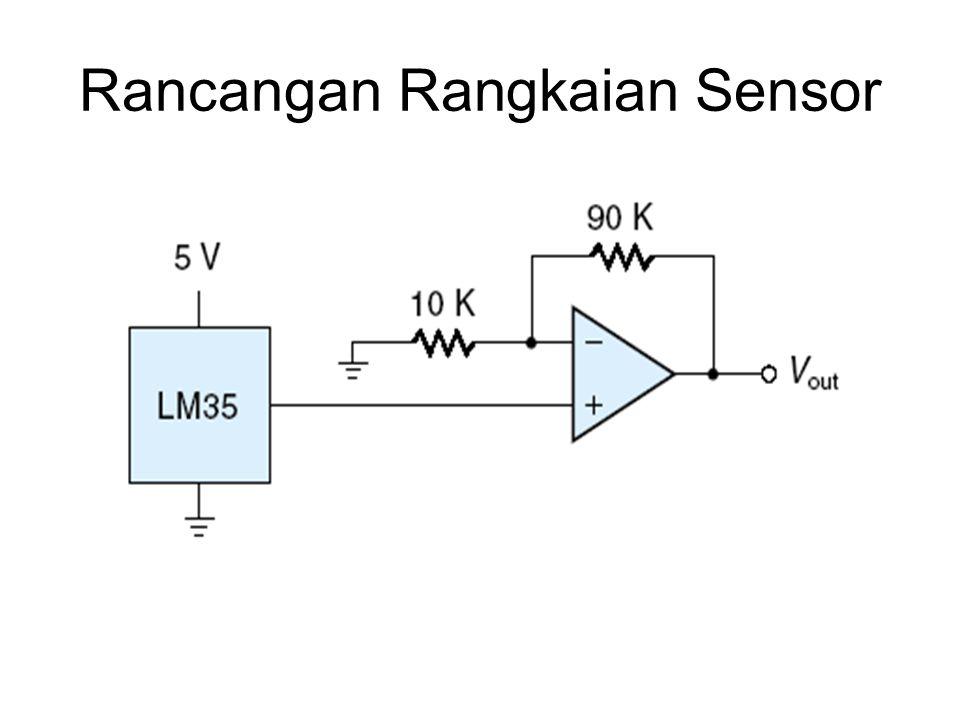 Rancangan Rangkaian Sensor
