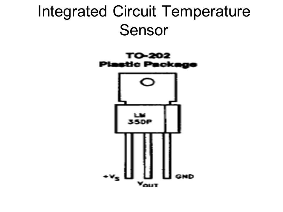 Integrated Circuit Temperature Sensor