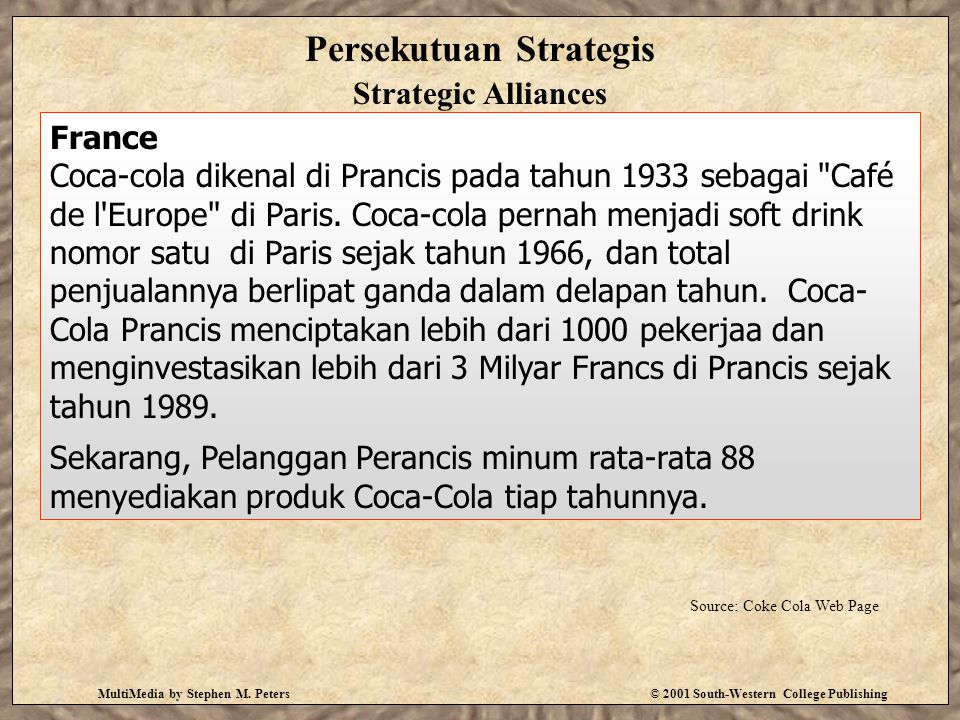 Persekutuan Strategis Strategic Alliances