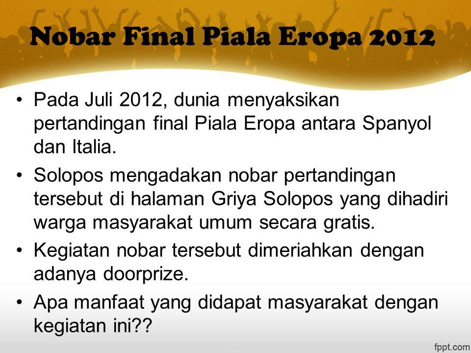 Nobar Final Piala Eropa 2012