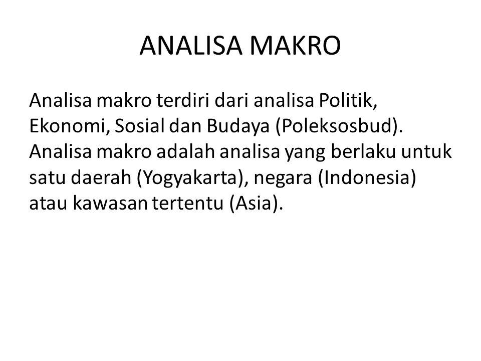 ANALISA MAKRO