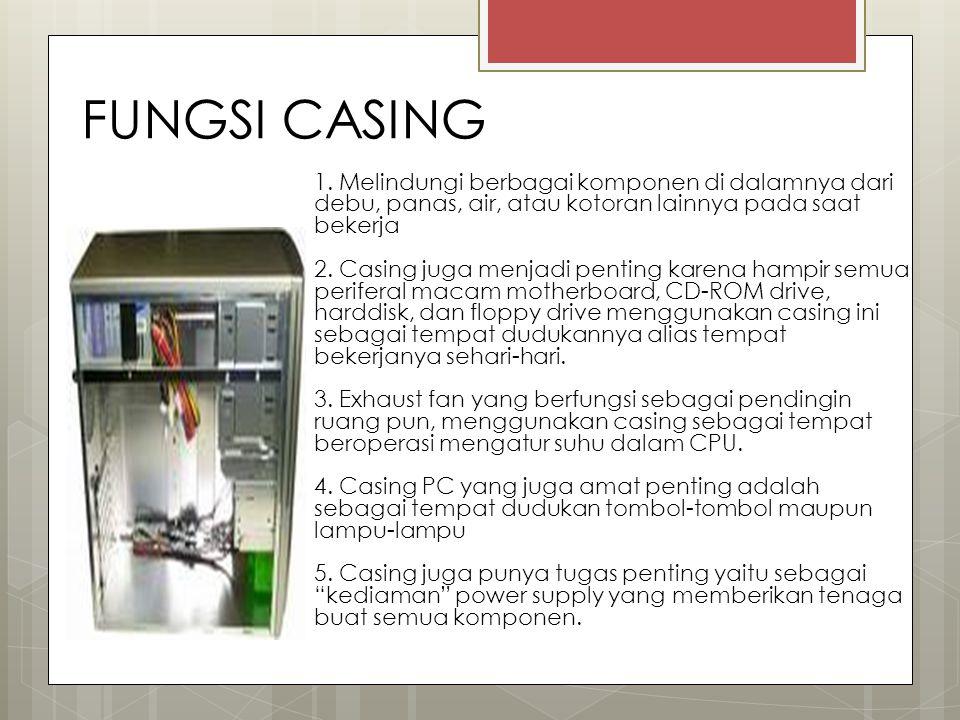 FUNGSI CASING