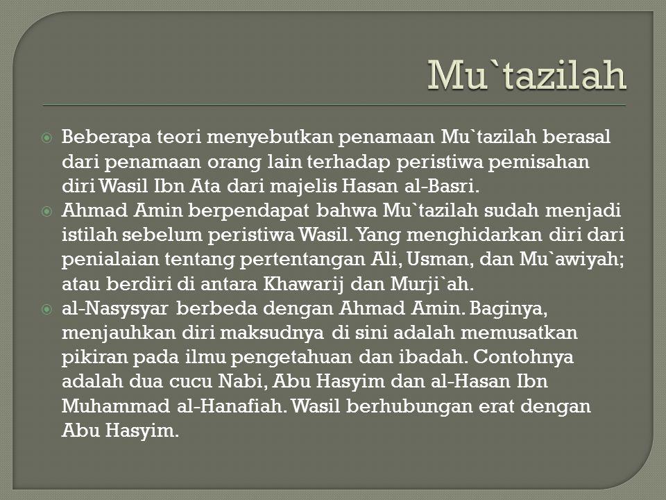 Mu`tazilah