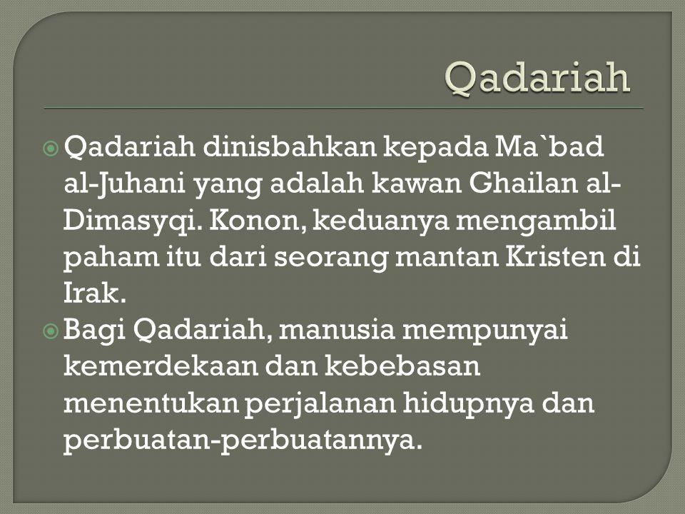 Qadariah