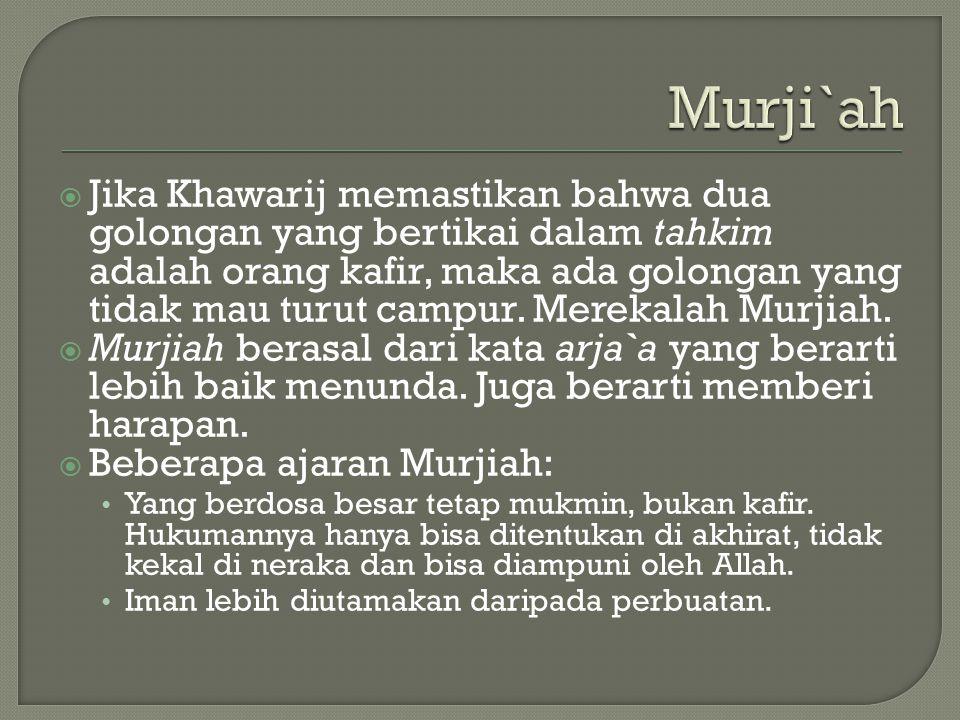 Murji`ah