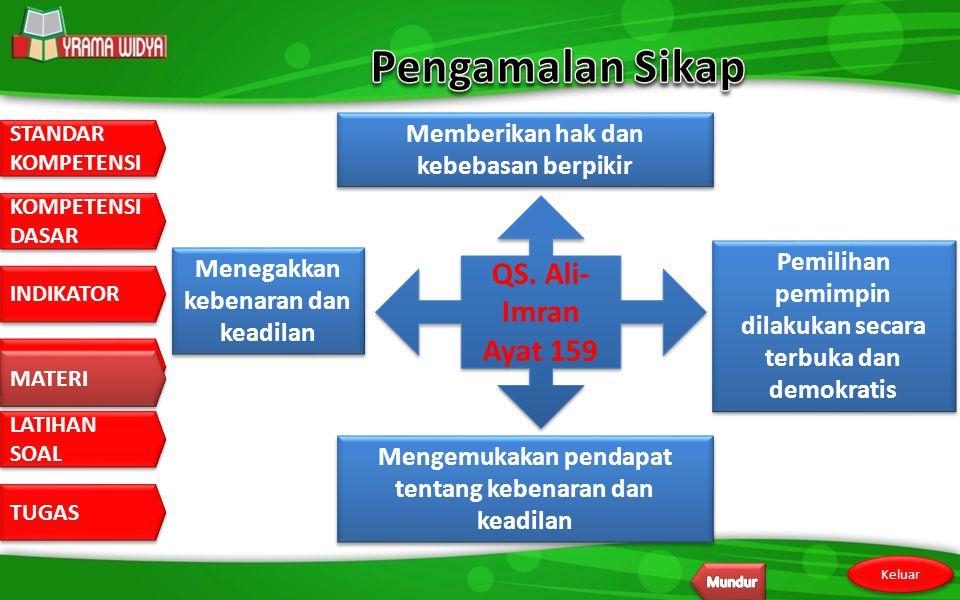 Pengamalan Sikap QS. Ali-Imran Ayat 159
