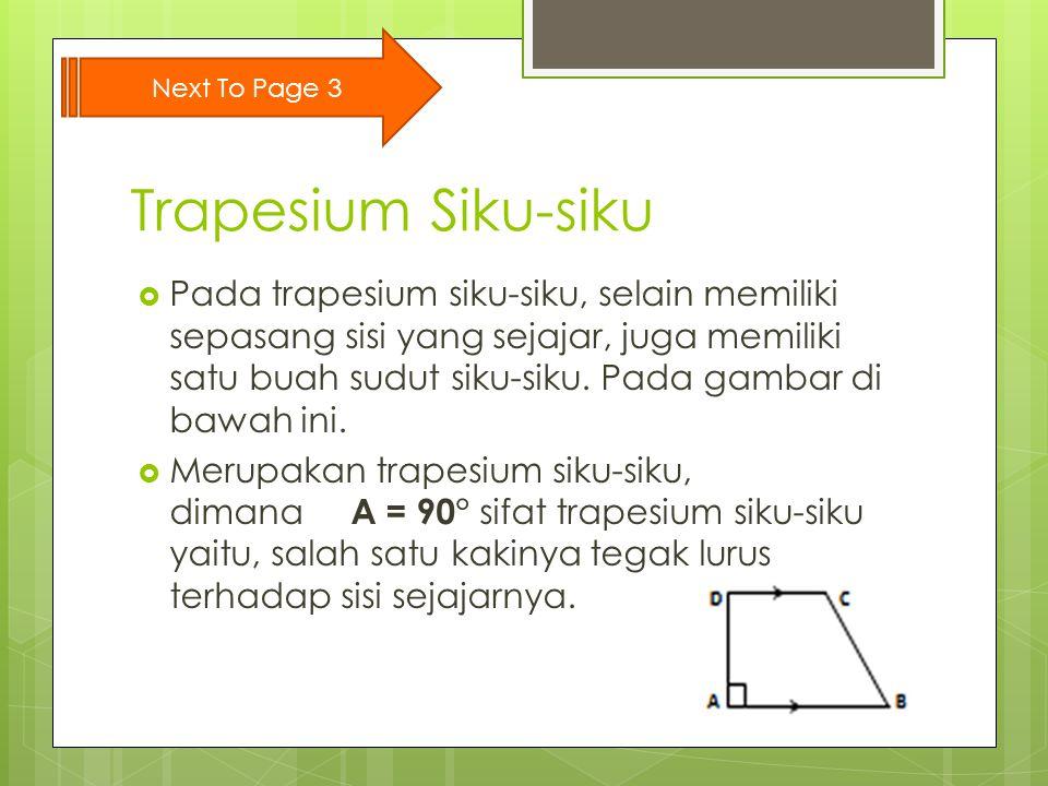 Next To Page 3 Trapesium Siku-siku.