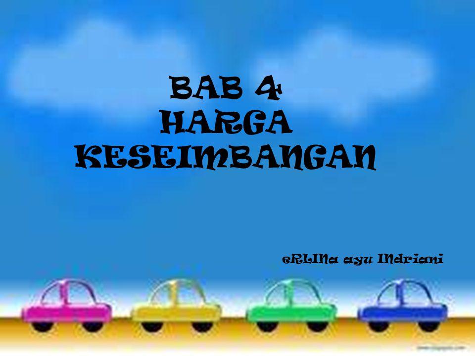 BAB 4 HARGA KESEIMBANGAN