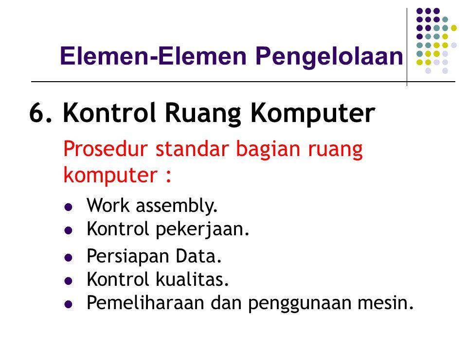 6. Kontrol Ruang Komputer