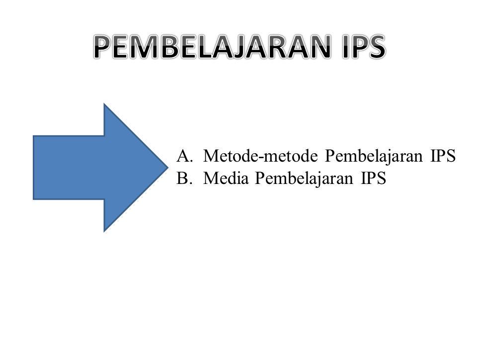 PEMBELAJARAN IPS Metode-metode Pembelajaran IPS Media Pembelajaran IPS