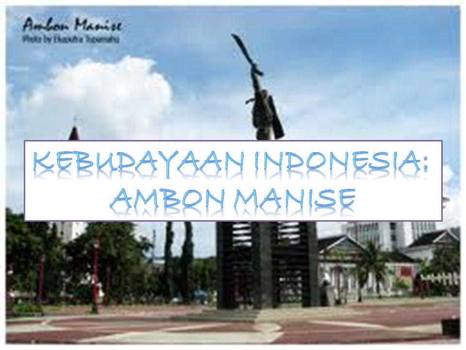 Kebudayaan INDONESIA: