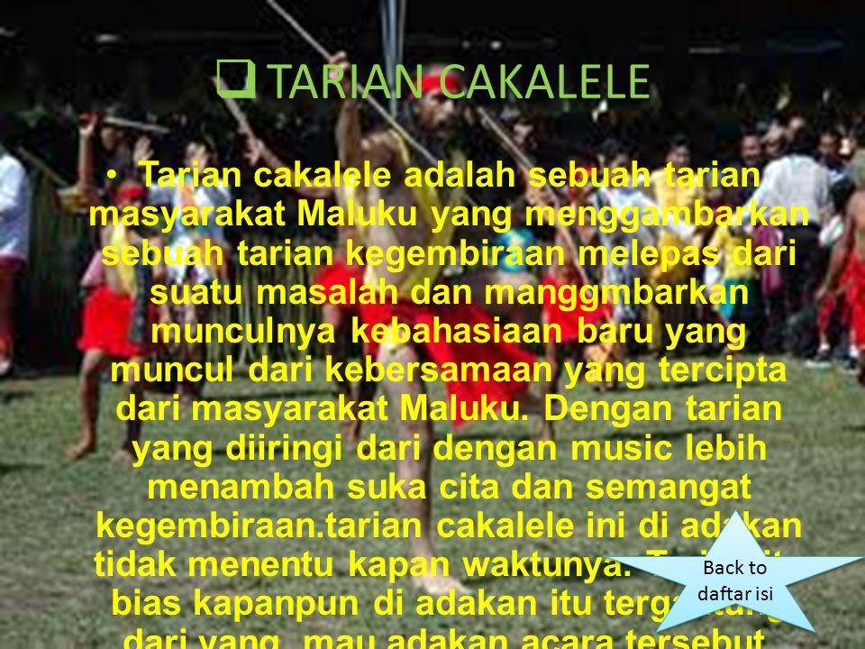 TARIAN CAKALELE