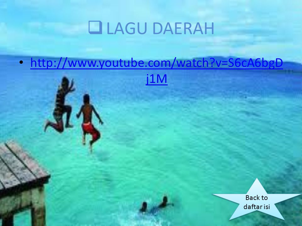 LAGU DAERAH http://www.youtube.com/watch v=S6cA6bgDj1M
