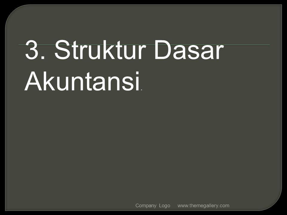 3. Struktur Dasar Akuntansi.