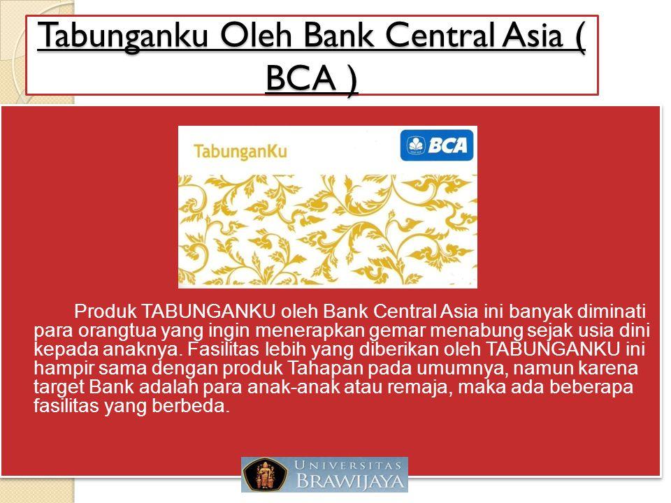 Tabunganku Oleh Bank Central Asia ( BCA )
