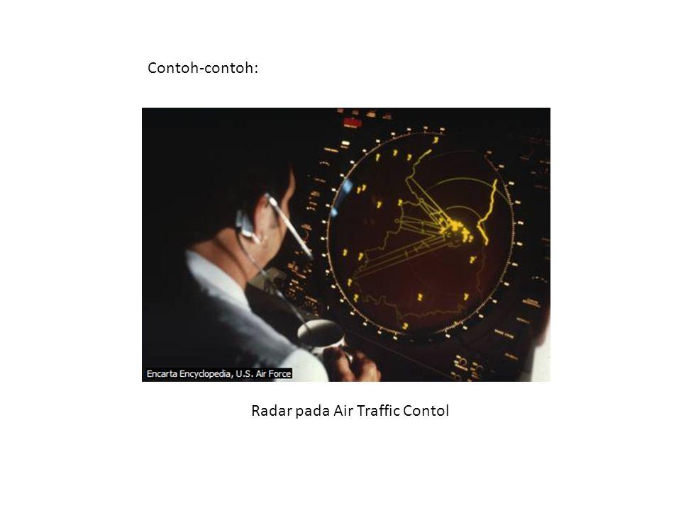 Contoh-contoh: Radar pada Air Traffic Contol