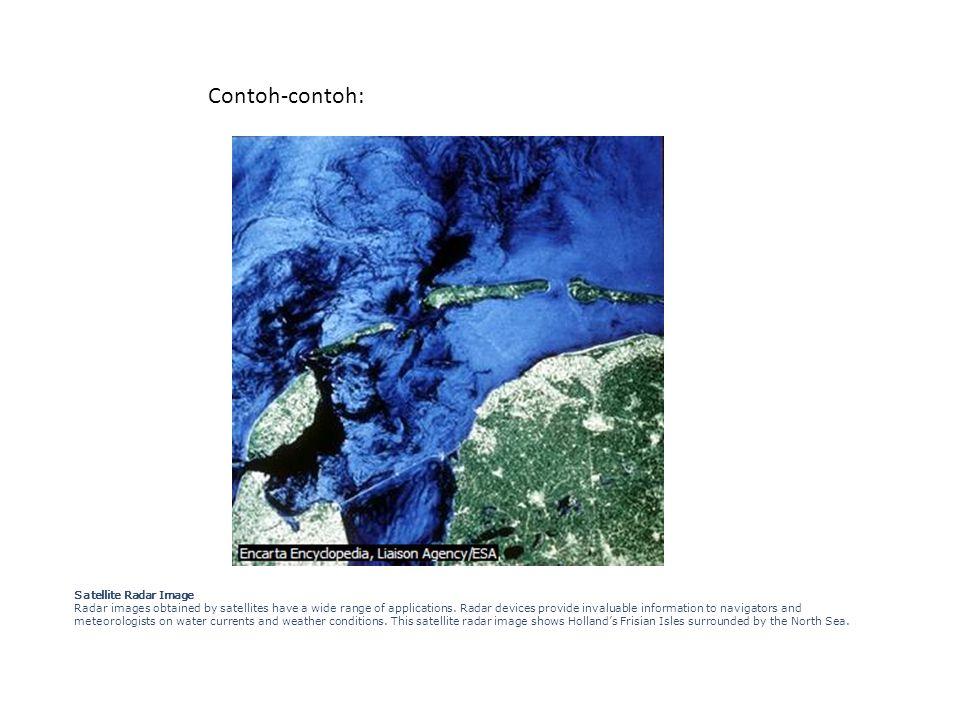 Contoh-contoh: Satellite Radar Image