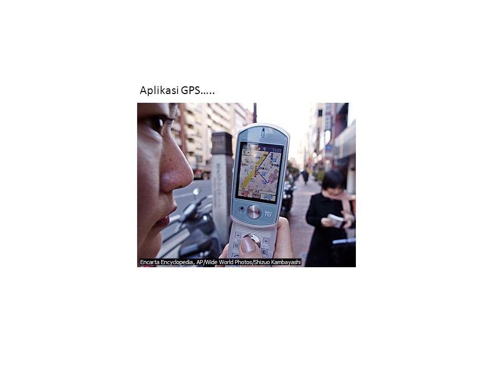 Aplikasi GPS…..