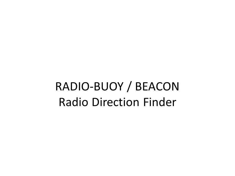 Radio Direction Finder
