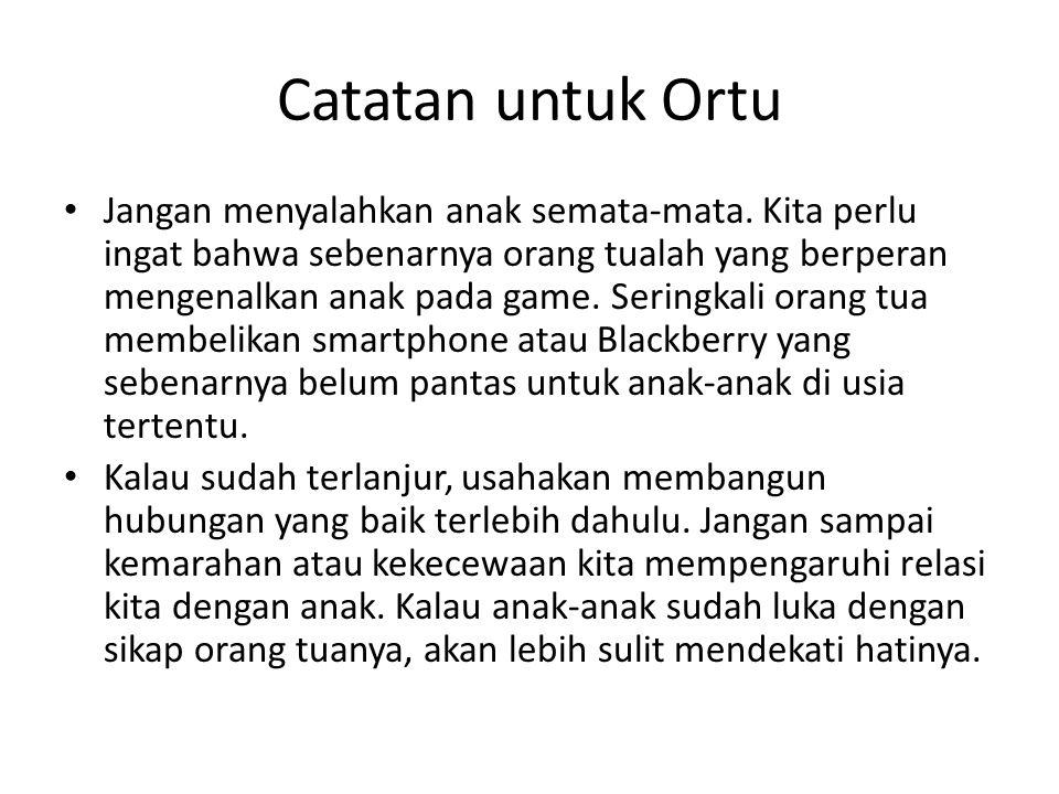 Catatan untuk Ortu
