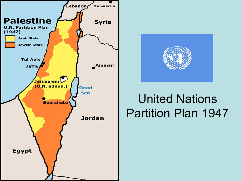 United Nations Partition Plan 1947
