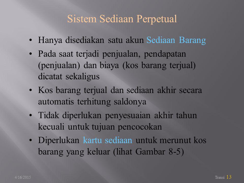 Sistem Sediaan Perpetual