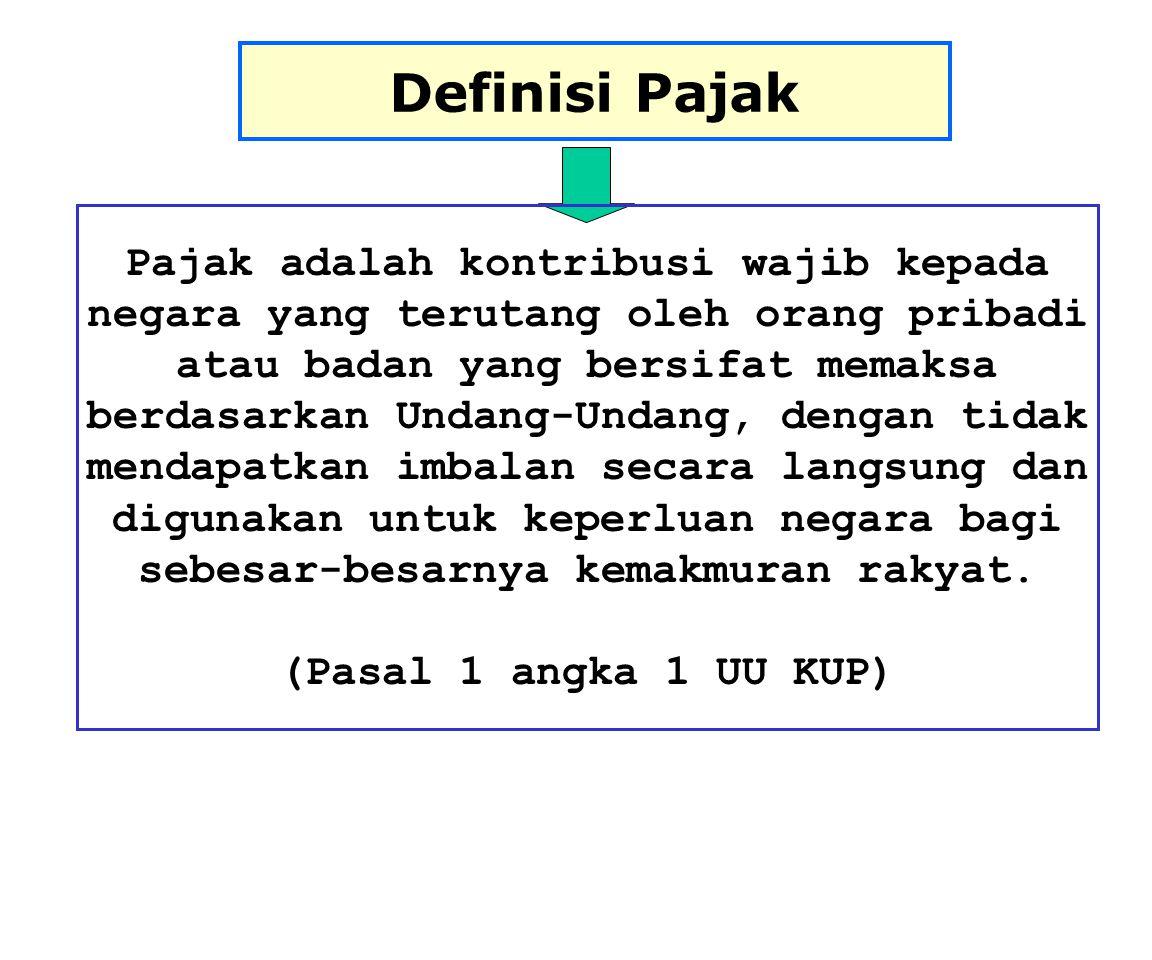 Definisi Pajak