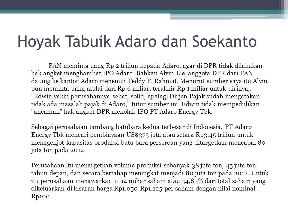 Hoyak Tabuik Adaro dan Soekanto