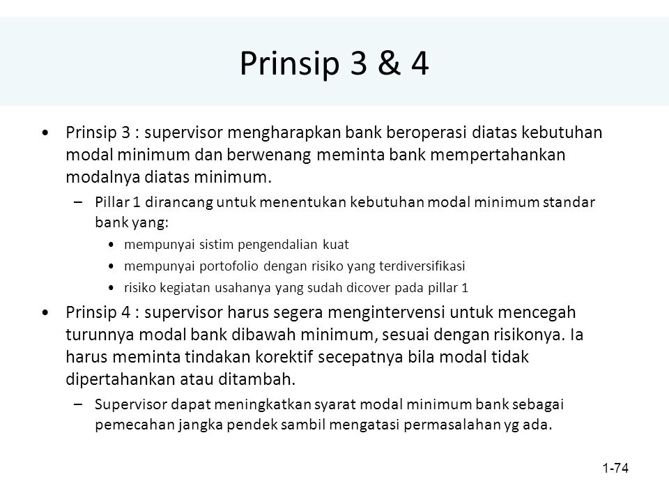 Prinsip 3 & 4