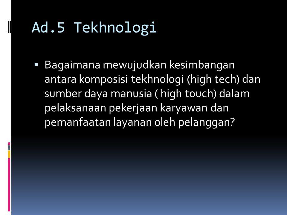 Ad.5 Tekhnologi