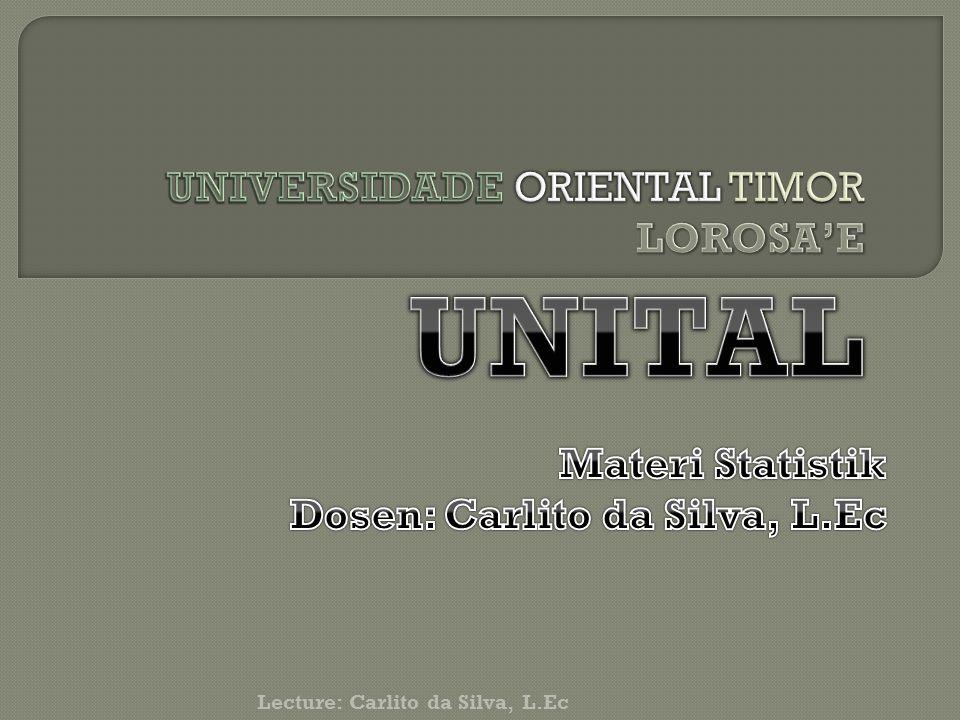 UNIVERSIDADE ORIENTAL TIMOR LOROSA'E UNITAL