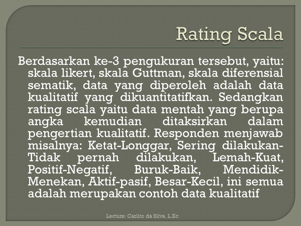 Rating Scala